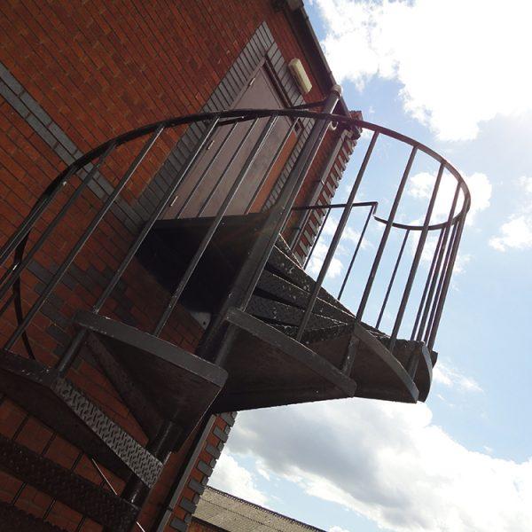 Cuckoo Wharf Side Entrance
