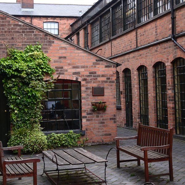 Jewellery Quarter - Hockley Terrace Courtyard