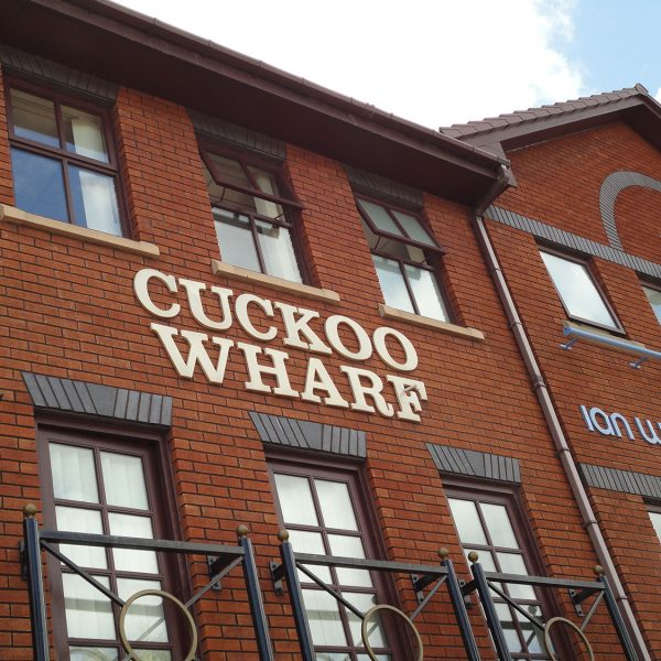 Cuckoo Wharf Aston Offices Front