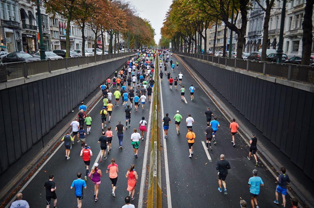 CSR charity marathon