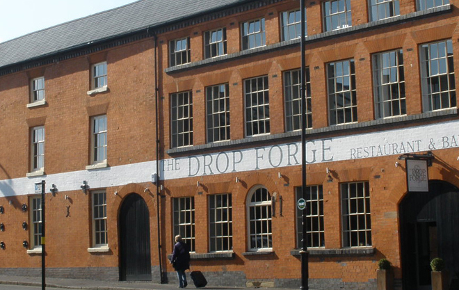 Drop Forge Birmingham Heritage Pub Conversion