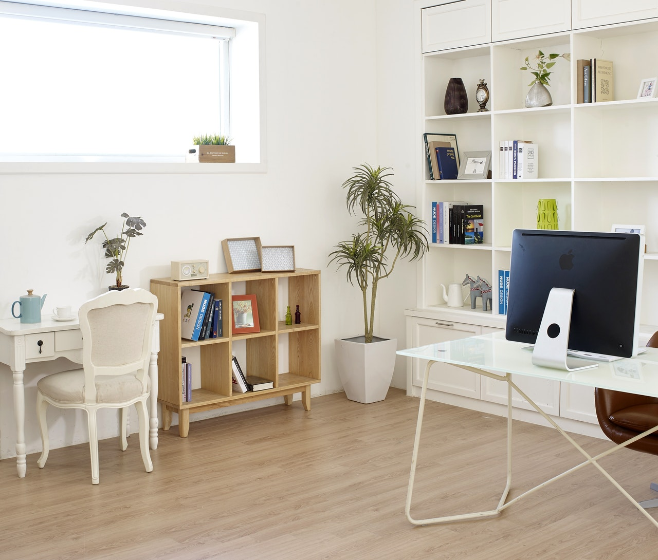 Shelving for space saving