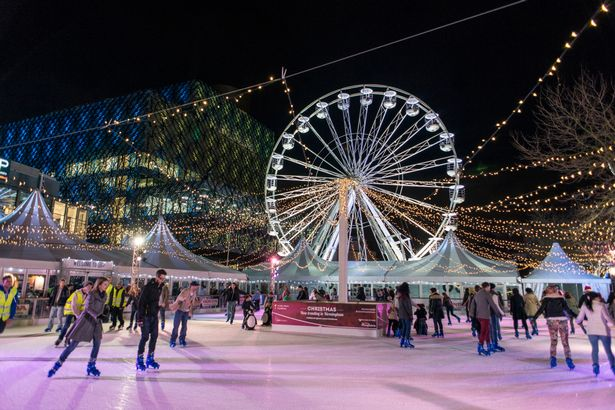 Things to do in Birmingham Ice Rink & Big Wheel